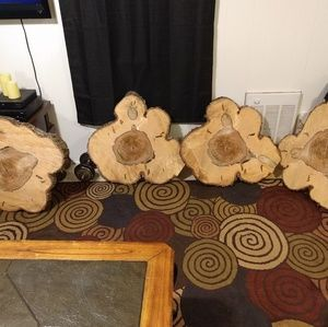 Can be made into a table. (hickory)